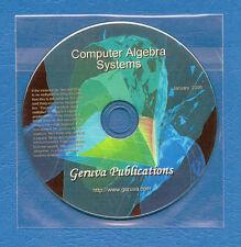 Symbolic Computer Algebra Systems & Theorum proof aids