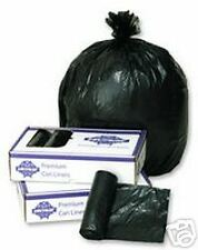56 Gallon Glutton Black Trash Garbage Bags (25)