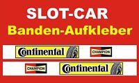 Slotcar LEITPLANKEN BANDE Aufkleber 3,5cm  CO-DESIGN      85968
