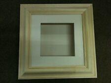 "3D BOX FRAME 8X8 UNTREATED  PINE 2.25""  (55mm) DEEP 3D SHADOW"