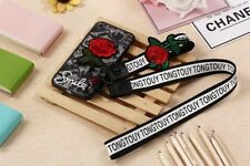 Fashion girls rose lace flowers phone case for Apple iPhone XS Max XR 6 7 8 Plus