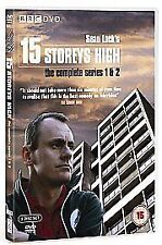 15 Storeys High - Series 1 and 2 (DVD, 2007) SEAN LOCK, WATCHED ONCE MINT
