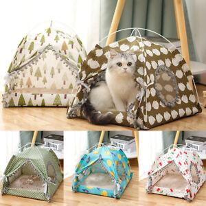 Pet Dog Puppy Nest Cushion Sleeping Fluffy Winter Bed Pet Dog Cat Tent House New