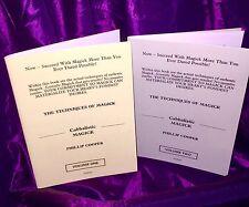 CABBALISTIC MAGICK Finbarr Grimoire Magick Spells Occult Witchcraft 2 Volume Set