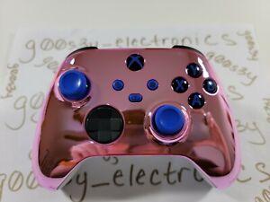 NEW Custom Xbox Series One / X / S Chrome Pink Wireless Controller
