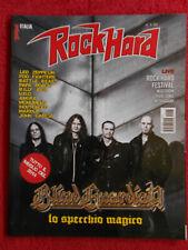 Rivista ROCKHARD 28/2015 Blind Guardian billy idol Papa Roach Led Zeppelin No cd