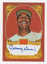 2013 Panini Golden Age Historic Autograph TD Tommy Davis Los Angeles Dodgers