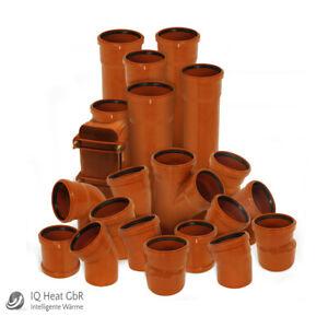 KG-Rohre KGEM DN110 125 150 200 250 300 400 500 Abwasser Rohr Kanalrohr Muffe