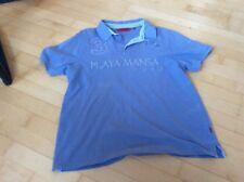 Poloshirt Herren signum hellblau mit Stickerei Baumwolle Gr.L