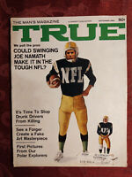 TRUE September 1968 JOE NAMATH NFL FOOTBALL VIETNAM WALLY HERBERT NORTH POLE