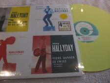 """maxi 45t  Johnny Hallyday  """"4 juke-box sur 1 maxi 45T""""   vinyle YELLOW"""