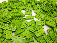 LEGO 3020 - Brand NEW 2x4 Lime Green Plates / 25 Pieces Per Order / £3.49