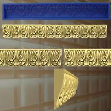 7 Stucco profili GOMMA negativo forma stampo gesso in rilievo Decorazione Soffitto