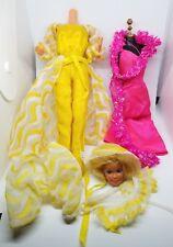 Vintage Doll Lot Barbie SUPER STAR #9720 PRETTY CHANGES #2598 1976 1978