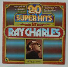 RAY CHARLES. 20 SUPER HITS. LP. TELDEC. VERY GOOD PLUS