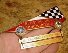 PLAKETTE AvD KAC Bergprüfung Nürburgring BERGRENNEN 1968 1969 PLACCA PLAQUE DW