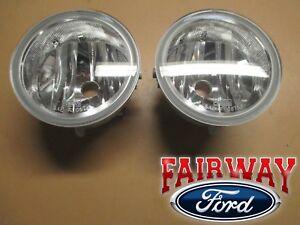 06 thru 10 F-150 OEM Genuine Ford Parts Fog Lamps Lights - Pair of Both RH & LH