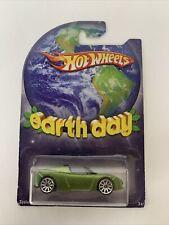 Hot Wheels Earth Day Green Tesla Roadster Sport *