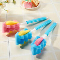 Sponge Cleaner Long Handle Brush Glass Bottle Cups Kitchen Wash Cleaning LD