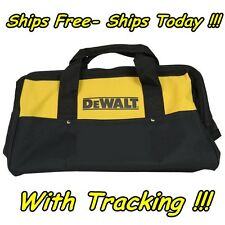 "DeWalt 13"" 6 Pocket Heavy Duty Nylon Canvas Contractor Carry Tool Bag N037466"