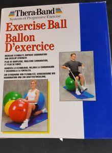 Thera-Band Standard Exercise Ball Strengthen Postural Muscles Improves Posture