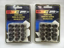 "**LOT OF 2** MR GASKET EXHAUST HEADER BOLT GRADE 8 3/8-16 3/4"" ALLEN SOCKET (12)"