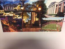 "Georgia Bulldogs Football ""GA Traditions"" Canvas Art - Arch & Sanford Stadium"