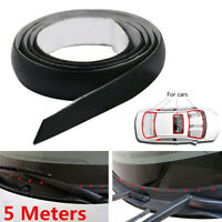 5M Rubber Seal Weather Strip Trim For Car Front Rear Windshield Car Accessories