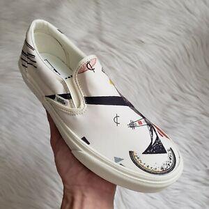 Vans x MoMa Vasily Kandinsky Classic Slip-On Sneakers Multiple Sizes