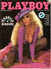 rivista erotica - PLAYBOY EDIZIONE ITALIANA Anno 1981 LUGLIO ISABELLA BIAGINI