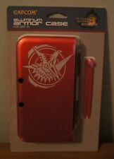 New! Monster Hunter 3 Ultimate Limited Edition Aluminum Red 3DS XL Case Capcom