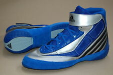 adidas Tyrint V Gr. 12 5 / 48 Blau/silber Top Ringerschuhe Wrestling