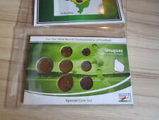 KMS Special coin set Uruguay World Cup 2014 NEW RARE