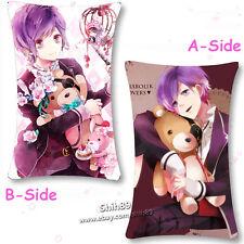 Anime DIABOLIK LOVERS Sakamaki Kanato Dakimakura Cushion Pillow Case #0000011