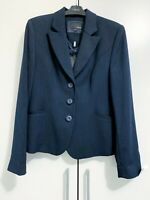 Next Women Regular Blue Navy Tailored Jacket Single Breasted Size 10 New Tags