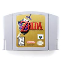 Legend Of Zelda: Ocarina Of Time (Nintendo 64) Authentic Cartridge Only Tested