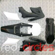 BLACK 125cc 140cc 150cc 200cc BIG  PIT BIKE PLASTIC SET SEAT (PITBIKE)