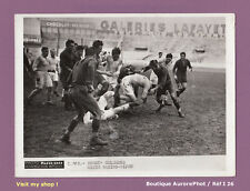 PHOTO DE PRESSE SPORT 1938 : RUGBY À COLOMBES, MATCH RACING-DIJON  -I26