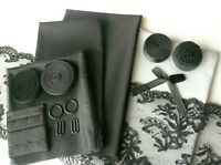 DIY Bra and Knicker Making Kit. Inc Fabric and Notions. Med /Large. Silver/ Grey