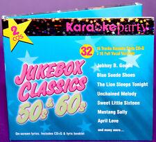 Juke Box Classics 50's & 60's 2 Pack MKPD2 52690 karaoke cdg Madacy