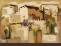 Siena by Eric Balint Art Print Modern Landscape Poster 30x40