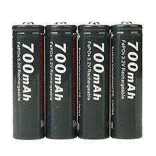 Soshine 4 X Aa/14500 700mah 3.2v PCB Protector Li-ion Rechargeable Batteries 5o7