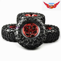 RC 4Pcs 1:10  HPI HSP Bigfoot Tires&Wheel For TRAXXAS Summit Monster Truck Car