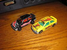 RARE Nice Lot of 2 Different Majorette Ford Escort RS Rally Sport Race Cars
