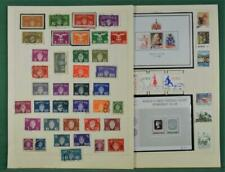NORWAY STAMPS SELECTION ON 7 ALBUM PAGES  (B268)