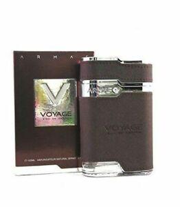 Armaf Voyage Brown Perfume For Men 3.4OZ/100ML EDP Original Free Shipping