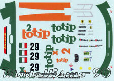"Decal sheet 1/43 Ferrari  F40 ""Totip"" #29 Le Mans 1994 NEW"