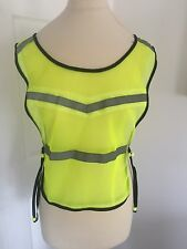 High Visibility Running/Cycling/Hiking Breathable Adjustable Mesh Vest!