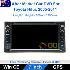 7 inch Car DVD GPS Navigation Head Unit Stereo For Toyota Hilux 2005-2011