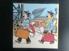 Carte Tintin à volet + enveloppe 2004 ETAT NEUF